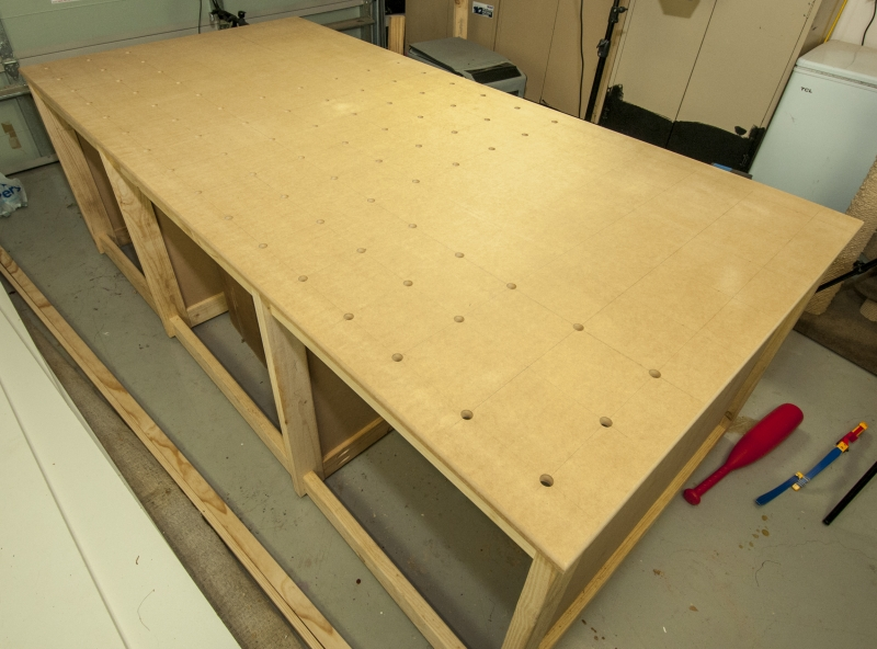 woodworking workbench build