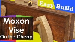 How to make a moxon vise for woodworking