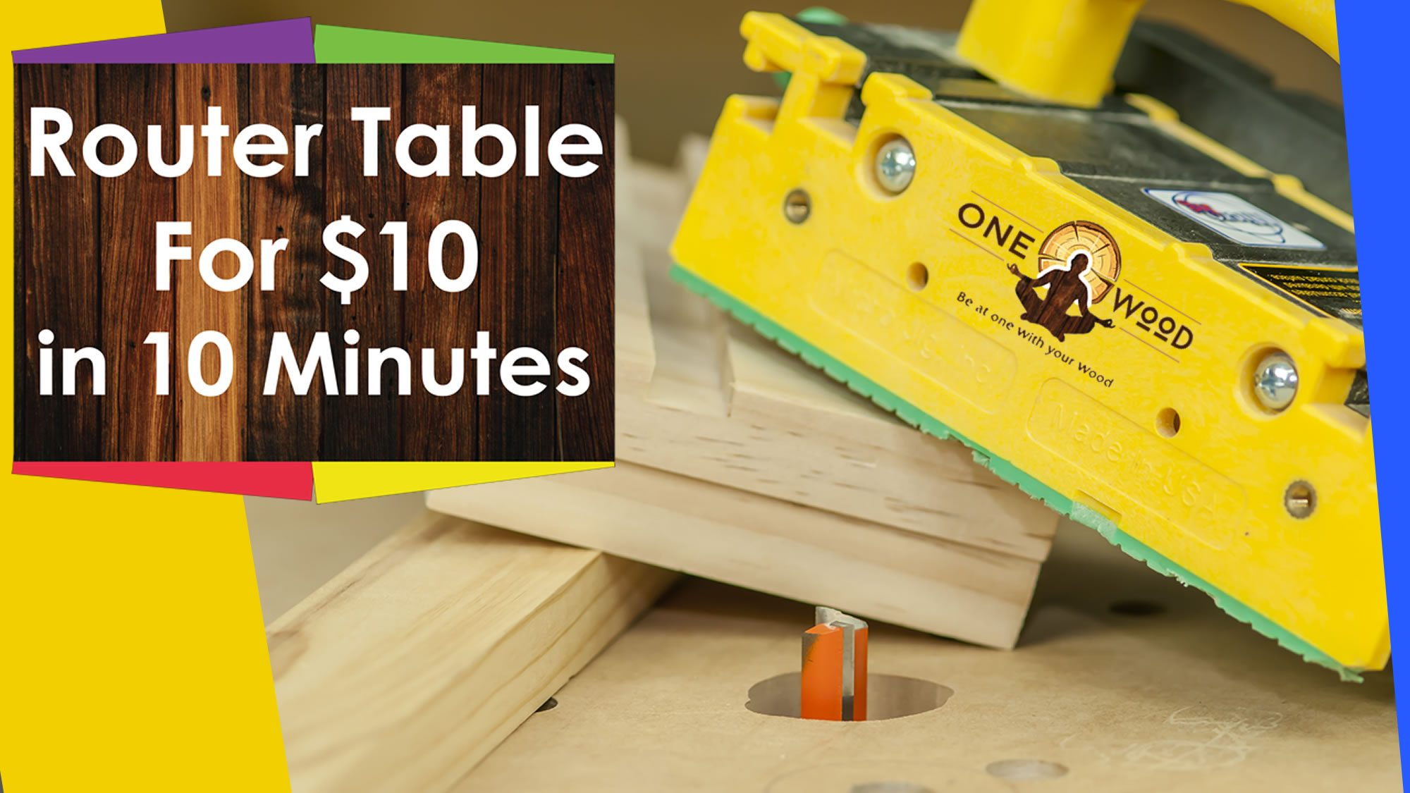 Make a DIY router table for $10
