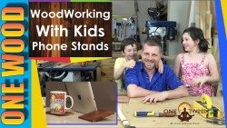 woodworking for kids phone stand