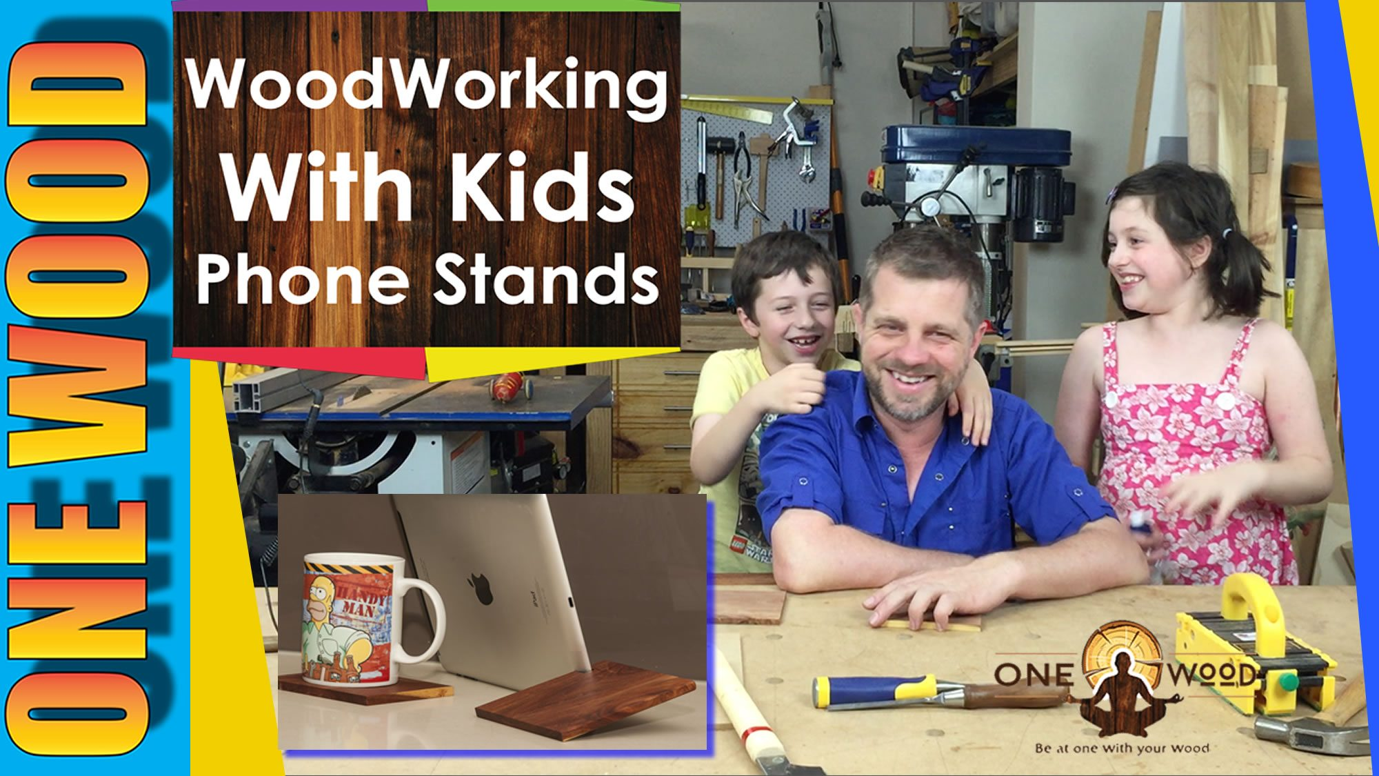 Woodworking Projects with Kids