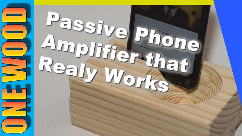 DIY Phone Passive Amplifier
