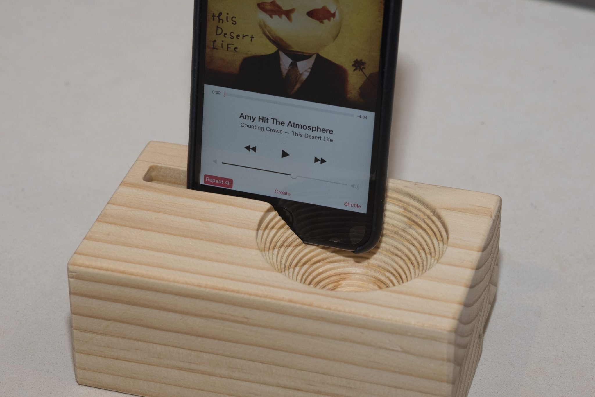 X-Carve CNC Project Make a Passive Amplifier for your iPhone