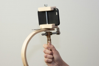 Wood Steadicam for GoPro or iPhone