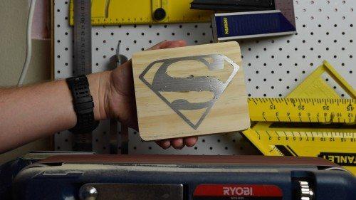 Sanding solder inlay