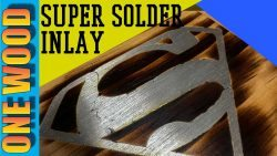 Solder Inlay for Woodworking Projects