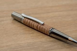 Figured Eucalyptus pen