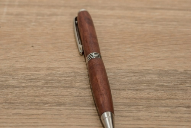 Red Gum Burl Pen