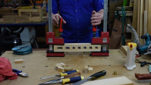 Clamp up DIY Chisel Rack