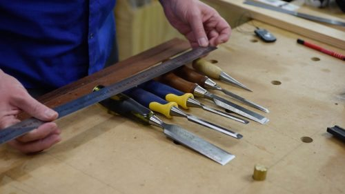 Layout bench chisels hand tools