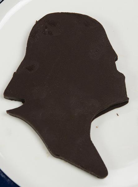 homemade darth vader chocolate
